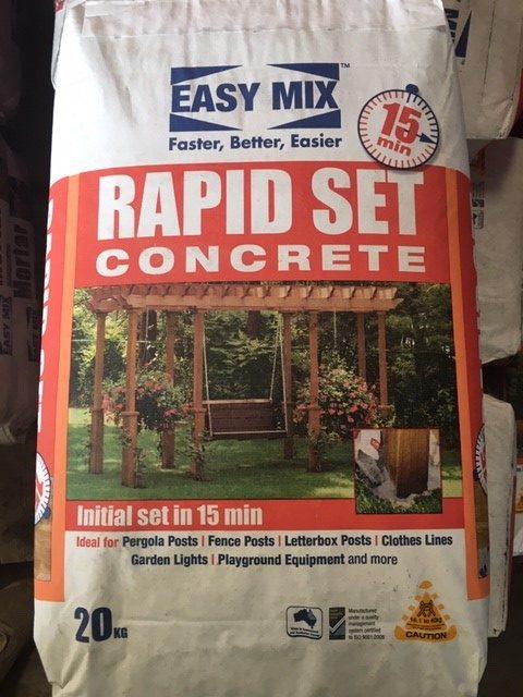 Rapid Set Concrete