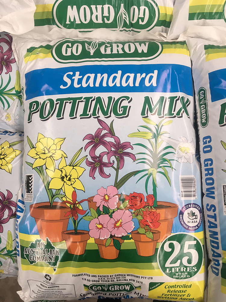 Standard Potting Mix Gardening and Landscape Supplies Go Grow