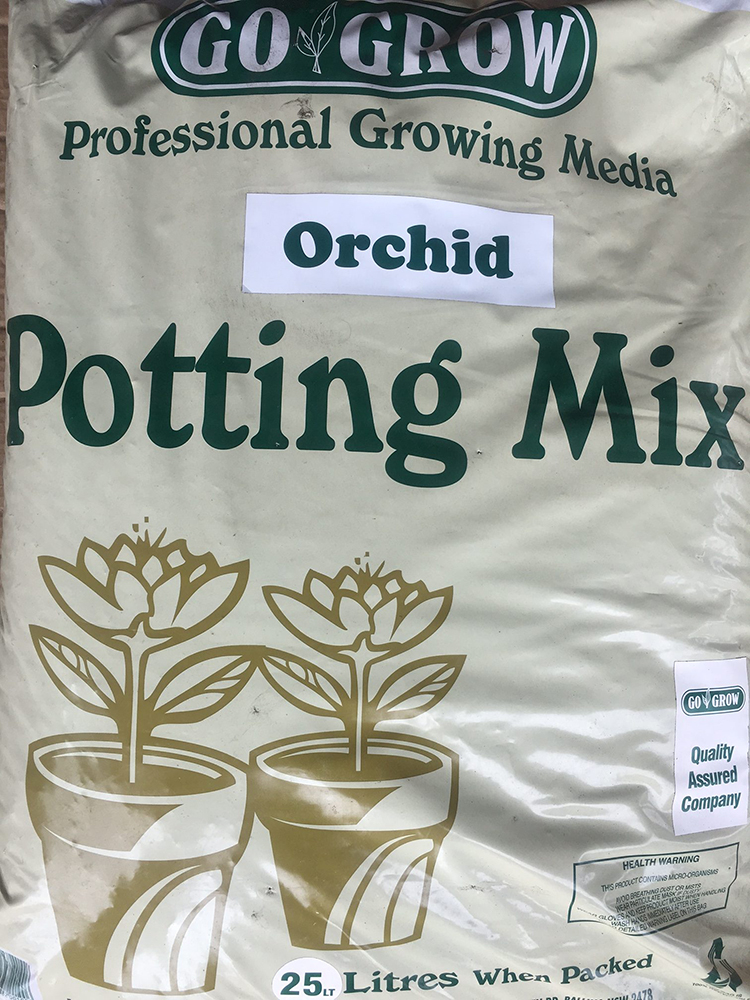 Orchid Potting Mix Gardening and Landscape Supplies Go Grow