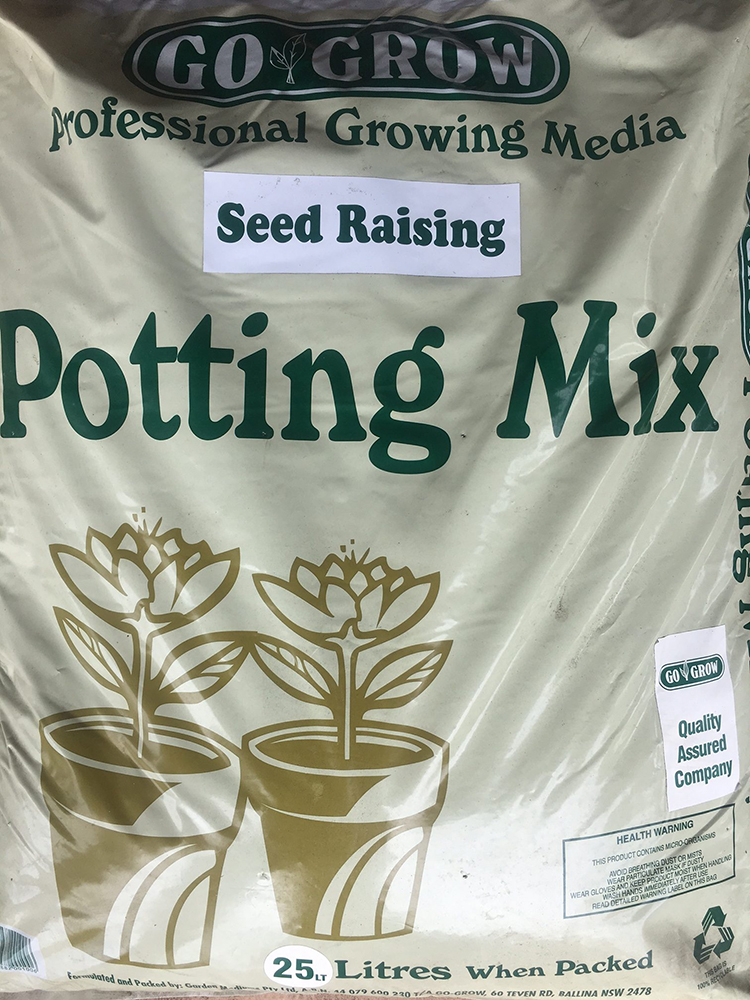 Seed Raising Potting Mix Gardening and Landscape Supplies Go Grow