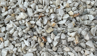 10mm White Pebble Landscape & Gardening Supplies Go Grow